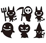 aw9432 Halloween Stickers Glass Window Stickers Wall Stickers Halloween   Home Decor Witch Stickers