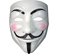 il V per Vendetta partito cosplay mascherina masque ragazzo anonimo fawkes accessorio costume adulto costume di Halloween