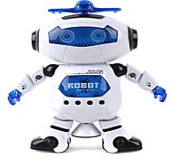 360 rotierenden Kinder elektronische Fuß tanzen intelligente Raum-Roboter Kinder kühlen Astronauten Modell Musik Licht Spielzeug