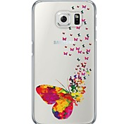 Butterfly Pattern TPU Back Cover Case for Samsung Galaxy S6 / Galaxy S5 / Galaxy S4