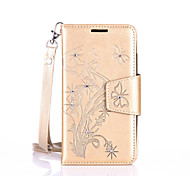 Lanyard Embossed Diamond Phone Holster Phone Shell for Lenovo A2010/A2020
