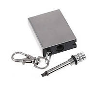 Permanent Metal Match Box Lighter Striker Gadget Military Novelty Keyring Flame