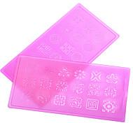 Nail Art Nail Sticker Diecut Maniküre Schablone / 3D Acrylic Nail Art Molds
