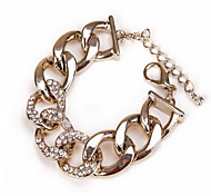Heart Shape Crystal Chain Bracelet Christmas Gifts