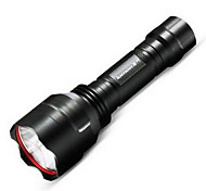 Outdoor Aluminum Rechargeable Waterproof LED Flashlight