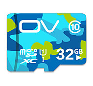 Ov 32 Gb Memory Card 16 Gb Tf Card Vehicle Traveling Data Recorder High-Speed Memory Card C10 Camouflage