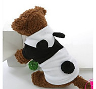 Dog Hoodie White Spring/Fall Solid Holiday, Dog Clothes / Dog Clothing-Other