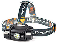 Lights LED Flashlights/Torch / Headlamps LED 600 lumens Lumens 1 Mode LED 18650Waterproof / Rechargeable / Impact Resistant / Strike