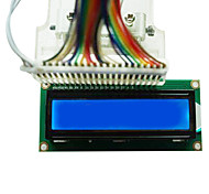 LCD1602 LCD display with blue and white LCD backlight selectable 3.3V / 5V