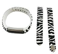Smart Strap Bracelet Colorful Printing Silicone Bracelet For Fitbit Alta(15)