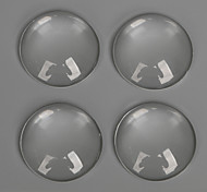 Beadia 10Pcs 25mm Flat Round Transparent Glass Cabochon For Earring Bracelet Necklace Jewelry Making