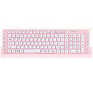 115 Keys Slim Keyboard for Laptop Pink 43.5*12*2.5cm