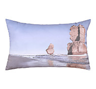 Polyester Pillow With Insert,Still Life Casual 12x20 inch