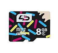 cartão de memória tf Xidao 8gb class10 10mb / s