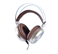 Gaming Headset, Qcute ENMEY-G800 3.5 Virtual Surround Sound Stereo Game Headphone with LED, Built-in Microphone