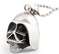 Men And Women Retro Punk Titanium Skull Pendant Pendant