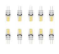 3W G4 2-pins LED-lampen T 6 SMD 5730 200 lm Warm wit / Koel wit Waterbestendig DC 12 V 10 stuks