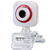 usb 2.0 webcam CMOS 0.5m 640x480 30fps rosso / viola