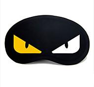 Travel Sleeping Eye Mask Type 0039 White And Yellow Devil Eyes