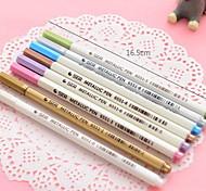 canetas de metal de cor grafite (cor aleatória)