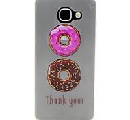 Macaroon Doughnut Pattern Pattern Relief Glow in the Dark TPU Phone Case for Motorola Moto G4/G4 Play
