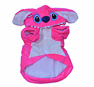 Cat / Dog Costume / Clothes/Jumpsuit Pink Winter / Spring/Fall Animal Cosplay / Halloween, Dog Clothes