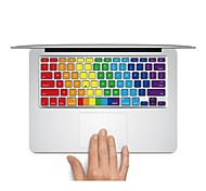 "Keyboard Decal Laptop Sticker Rainbow for MacBook Air 13"" MacBook Pro Retina 13'/15"" MacBook Pro 15"" MacBook Pro 17"