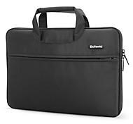 Pofoko® 11inch/14inch/15inch Waterproof One-shoulder Laptop Bag/Case Solid Color Black/Brown