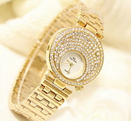 Women's Luxury Fashion Sparkle Stainless Steel Quartz Watch
