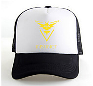 Hat/Cap Inspired by Pocket Monster Ash Ketchum Anime Cosplay Accessories Cap / Figure White / Black / Yellow Charmeuse Male / Female