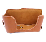 Fujifilm Camera X-M1/XA2 Leather Protective Half Case/Bag