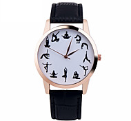 Yoga Watch Women Watches Leather Unique Jewelry Accessories Gift Idea Spring Unique Custom Ladies Trendy