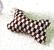 Dogs / Cats Toys Chew Toy Bone Velvet Brown