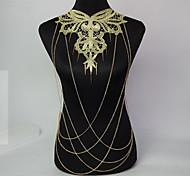 Women's Fashion Luxury Sexy Tassel Rivet Body Chains