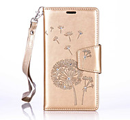 Dandelion Lanyard Embossed Diamond Phone Holster Phone Shell for Samsung Galaxy A510/A310