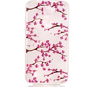 Flower Pattern Pattern Relief Glow in the Dark TPU Phone Case for LG K10/K8/K7/K5