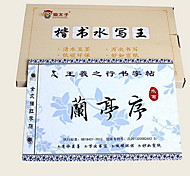 Handicraftsmen Tracing Spinning cCoth Brush Copybook