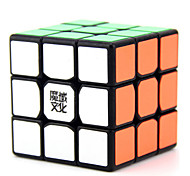 Magic Cube / Puzzle Toy IQ Cube Yongjun Three-layer Flourescent / Speed Smooth Speed Cube Magic Cube puzzleBlack /