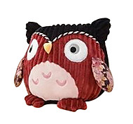 Orange Owl Pat Lamp NightLight Battery Infant Sleep NightLight