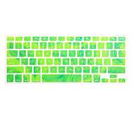 Feather Pattern Silicone Keyboard Cover Skin for Macbook Air 13.3/Macbook Pro 13.3 15.4,US version