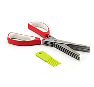 1 pièces Échalote Cutter & Slicer For Pour légumes Acier Inoxydable Creative Kitchen Gadget Haute qualité Nouveautés