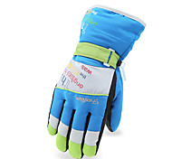 Winter Gloves Unisex Keep Warm Ski & Snowboard Green / Red / Black / Blue Canvas Free Size-Others