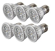 YouOKLight 6PCS E27 4W Dimmable 4-LED Spotlight  Warm White/White Light 360lm (AC 85~265V)