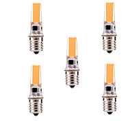 YWXLIGHT 5Pcs Dimmable 5W E17 LED Bi-pin Light T 1 COB 400-500 lm Warm White / Cool White AC 110-130 V