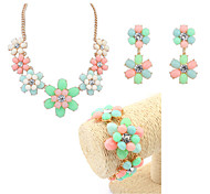 New Fashion European And American Jewelry Sets / Necklace / Earrings / Bracelet