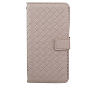 The PU Leather Material Knit Lines Phone Holster for iPhone 6 6S  6 Plus 6S Plus
