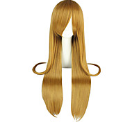 Cosplay Wigs Sword Art Online Asuna Yuuki Brown Long / Straight Anime Cosplay Wigs 95 CM Heat Resistant Fiber Male / Female