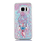 Dreamcatcher Dynamic Paillette Glitter Stars Water Liquid case for Samsung  Gaxaly S6 S6edge S7 S7edge