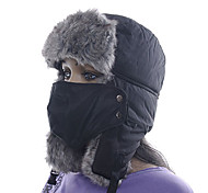 Chapka Hat / Fur Hat Ski Hat / Pollution Protection Mask Women's / Men's Thermal / Warm Snowboard PolyesterRed / Gray / Black / Light