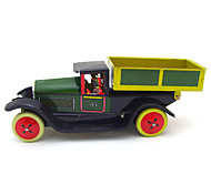 Dump Truck Wind-up Toy Leisure HobbyMetal Green For Kids
